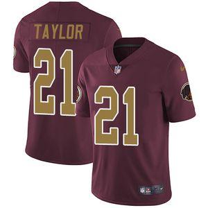 Nike Redskins #21 Sean Taylor Burgundy Red Alternate Men's Stitched NFL Vapor Untouchable Limited Jersey