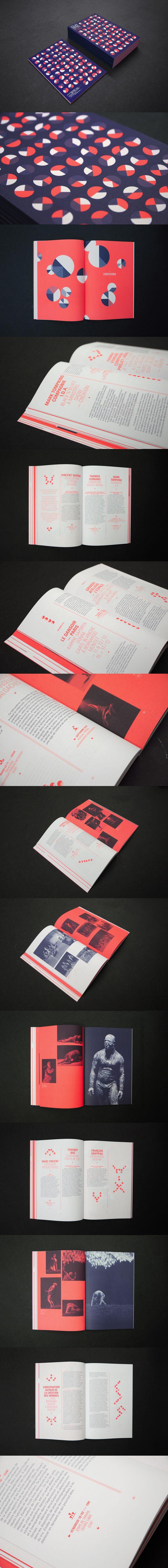 CENTRE CHORÉGRAPHIQUE SAISON 2010 / 2011 — Création d'affiche, kakémono, bâche Programme annuel, 90 pages, 16 x 24 cm http://www.ateliermuesli.com/index.php?/projets/saison-2010--2011/