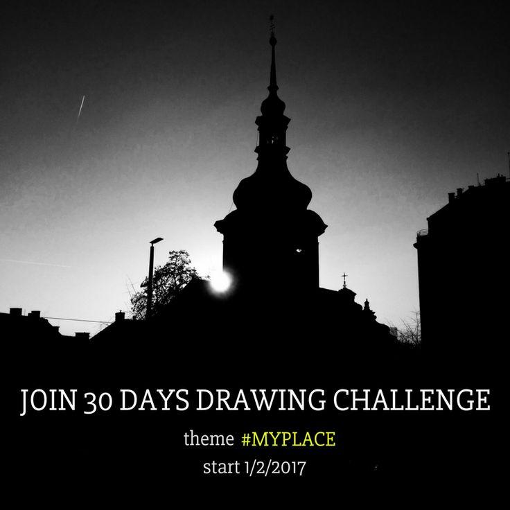 DIY blog, DIY drawing challenge, 30days challenge, drawing, draw everyday