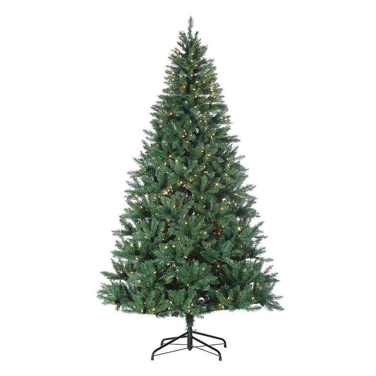 Sterling 8-ft. Pre-Lit Hudson Pine Artificial Christmas Tree - Indoor, Green