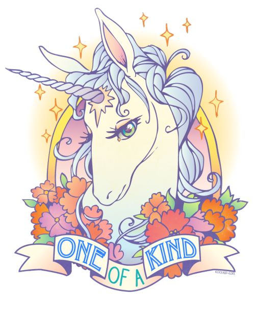 I adore this, I often find unicorn tats tacky, but this really captures the essence of one of my fave childhood movies.