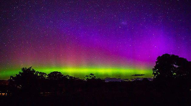 The Aurora Australis, a lesser-known cousin of the Aurora Borealis, is more often visible only from Antarctica, but 2013 is a bumper year for nature's light show, with a peak in sunspot activity that has sent colors spinning across the skies as far north as Tasmania, more frequently than seen for years.