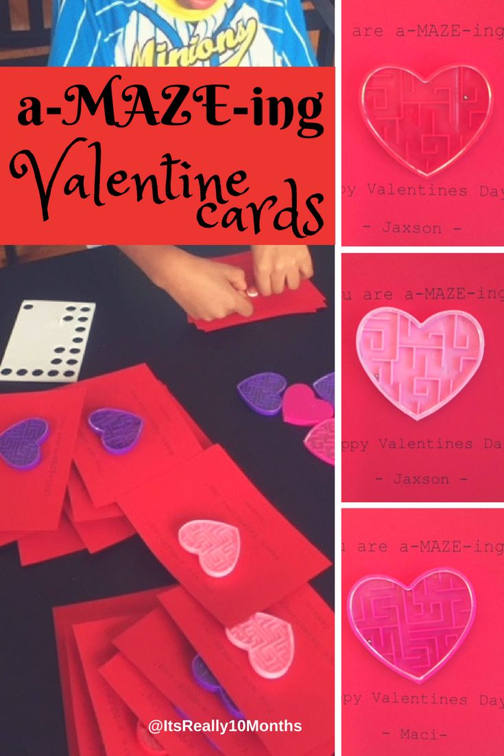EASY DIY Valentines Cards!