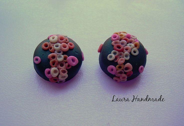 Earrings - Orecchini a bottone