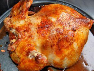 Poulet grillé au paprika fumé