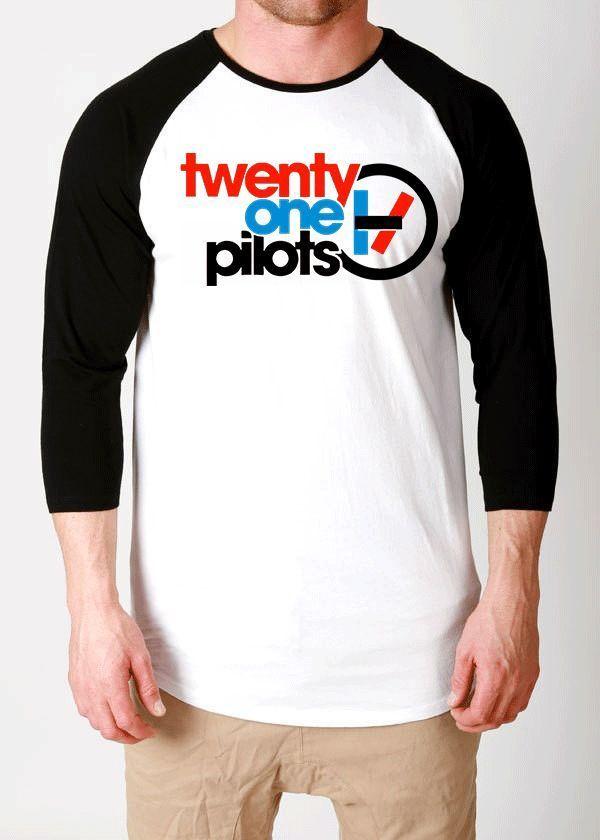 twenty one pilots tshirt shirt t-shirt fillers bars top 21 pilots blurryface tee #UNBRANDED #raglanbaseball