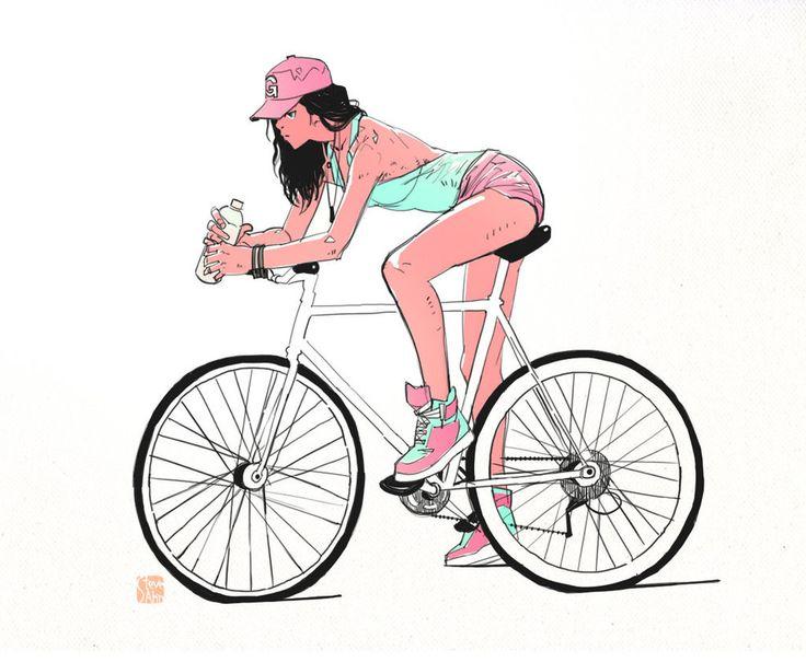 http://steveahn.deviantart.com/art/Some-Bicycle-Girl-381143465