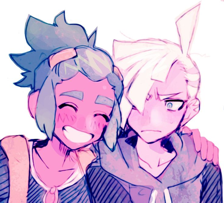 Hau and Gladion from Pokémon Sun and Moon