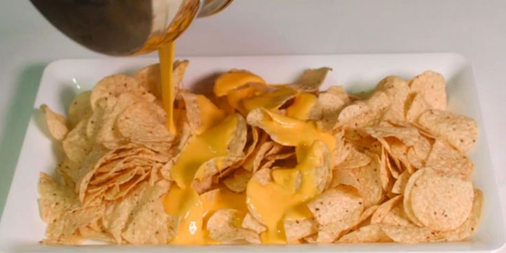 Make your own nacho cheese sauce with sodium citrate and a block of your favorite cheese. NEVER eat neon nacho cheese from a can again....this is BRILLIANT!