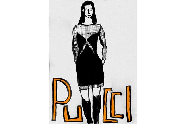 Trasparenze per Emilio Pucci