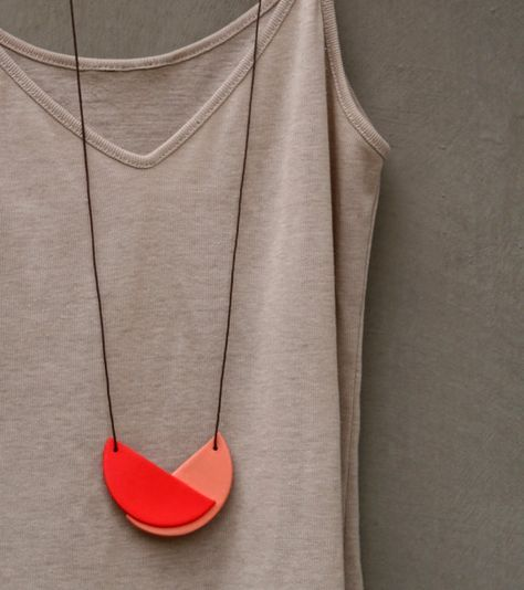 Not quite a circle necklace - notTuesday