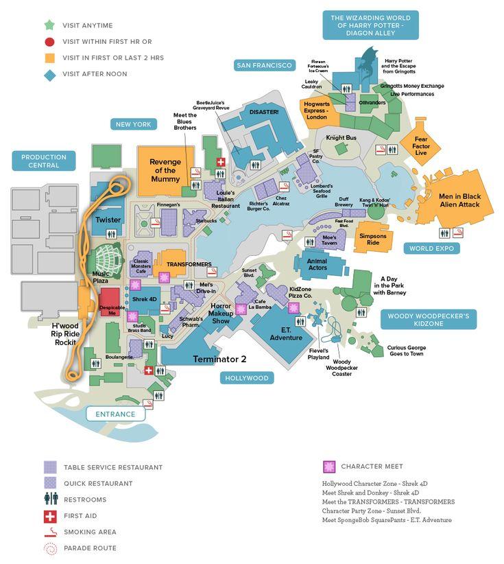 Universal Studios Florida | Universal Orlando Discount Tickets, crowds
