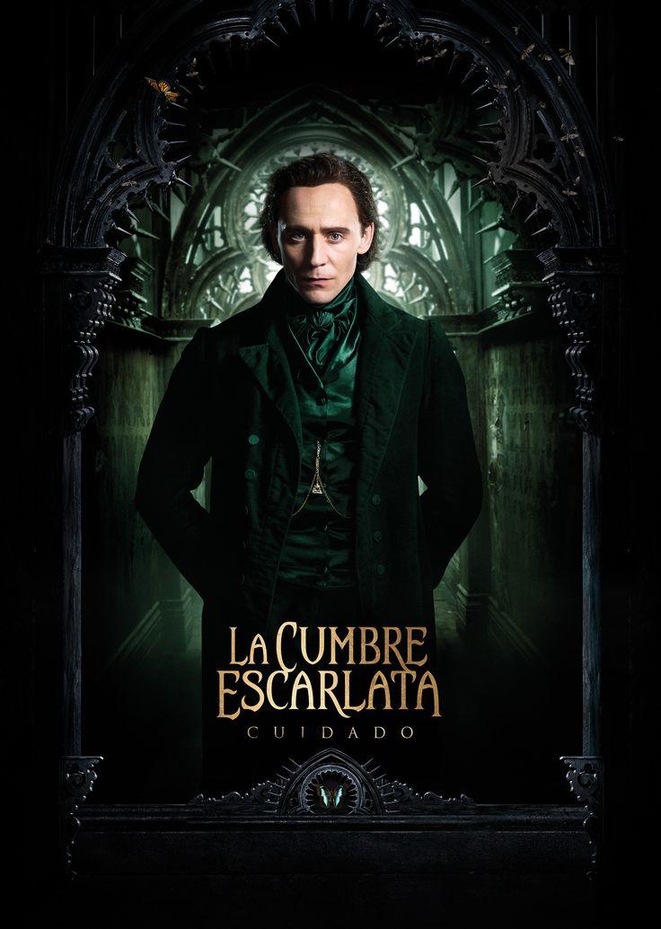 Tom Hiddleston, Crimson Peak poster - en Español