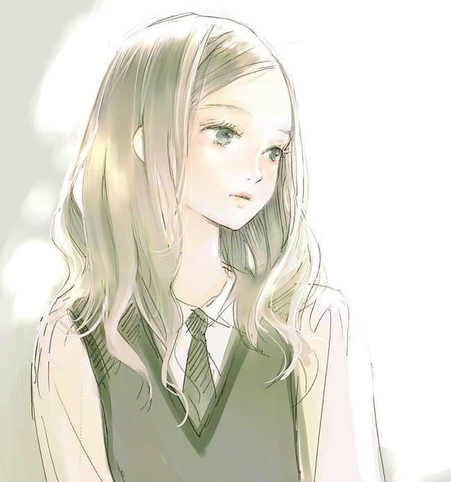 Resultado de imagen para blonde anime girl