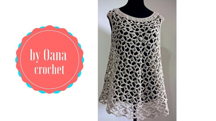 Crochet summer top   by Oana                                                                                                                                                                                 More