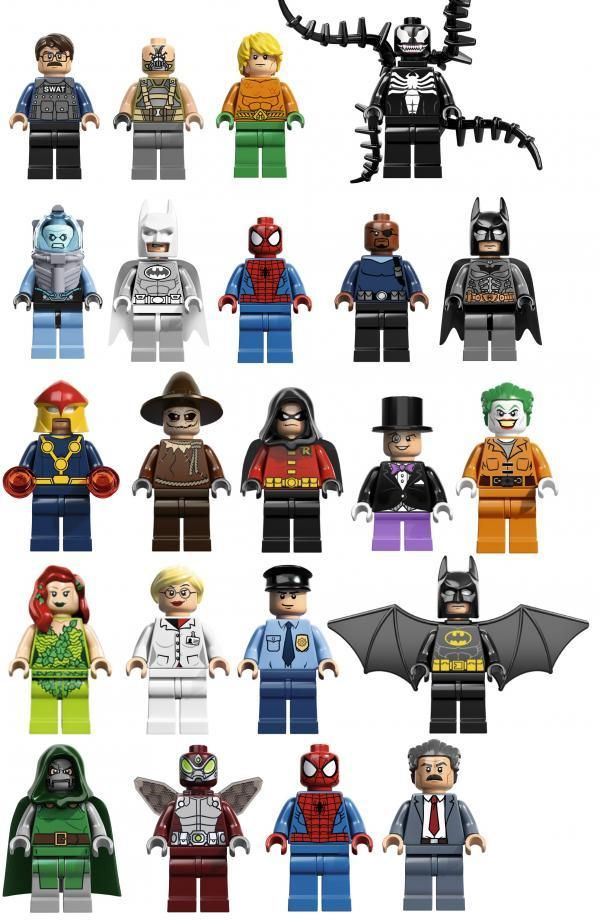 Lego Reveals Next Year S Super Hero Minifigs Tg Daily