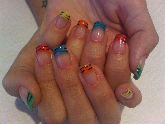 Bio Sculpture Gel Tips by NailsbyAnita - Nail Art Gallery nailartgallery.nailsmag.com by Nails Magazine www.nailsmag.com #nailart