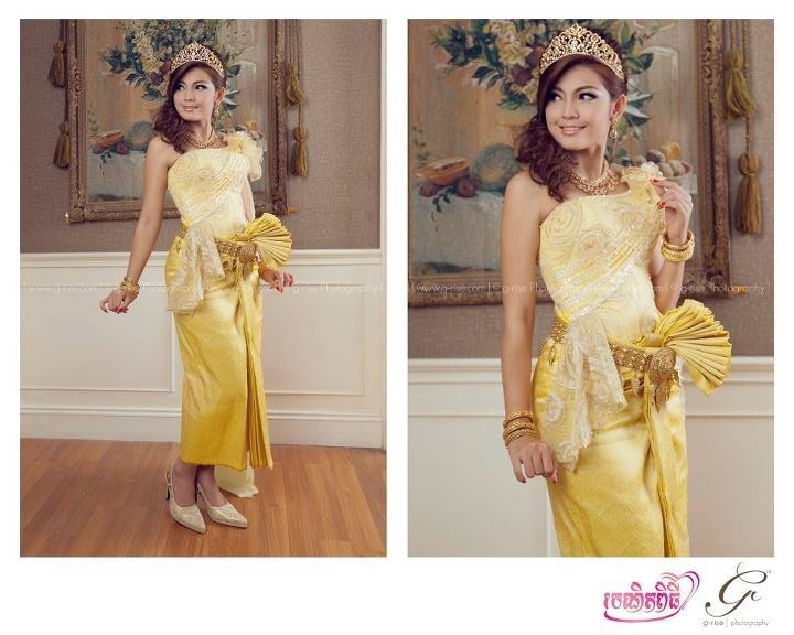 96 best images about cambodia brides on pinterest for Khmer dress for wedding party