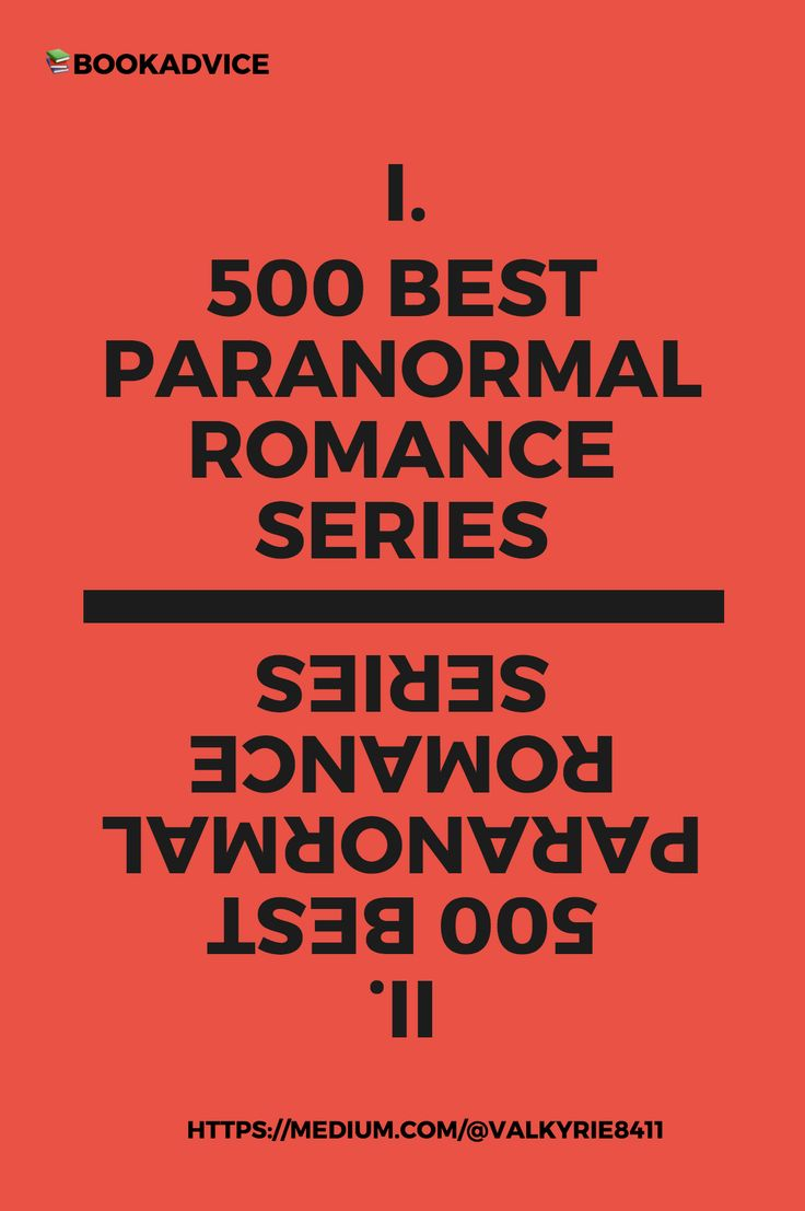 500 Best Paranormal Romance Series