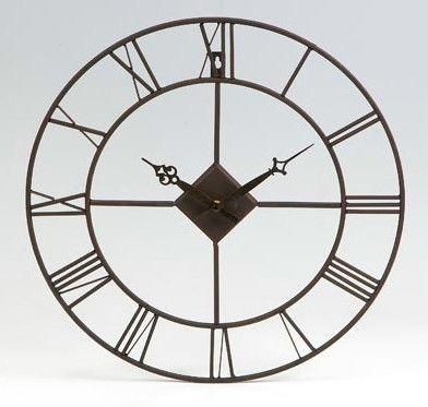 Reloj de pared de forja adornos pinterest clocks - Mecanismo para reloj de pared ...