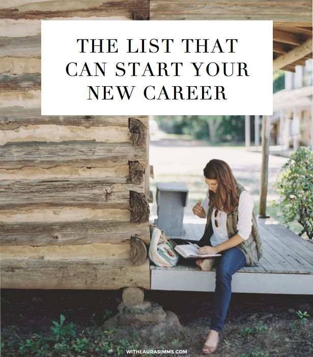 Want a new career but don't know where to start? Try this list.