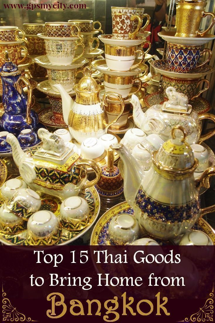 Bangkok shopping can be chaotic but also fun and exciting. These 15 Thai products make great travel souvenirs to bring home.