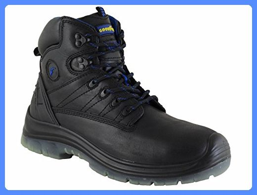 Mens Goodyear Sherman Quality Safety Work Boots Black UK5/EU39