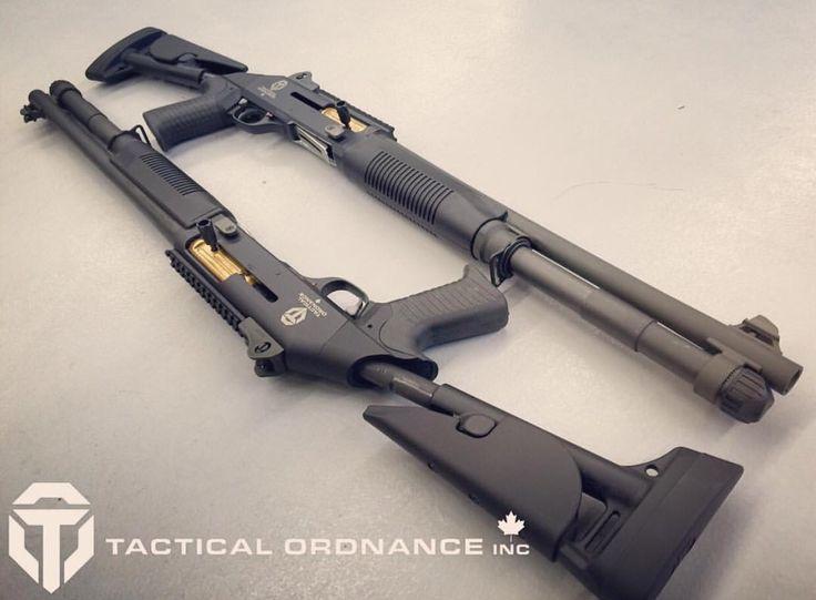 Tactical Ordinance Benelli M4's