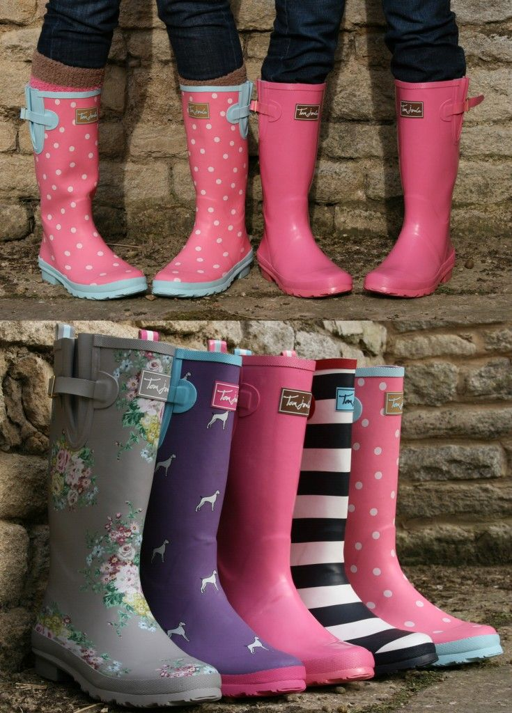 My daughter will insist on putting her wellies on to go out and jump in puddles when its been raining