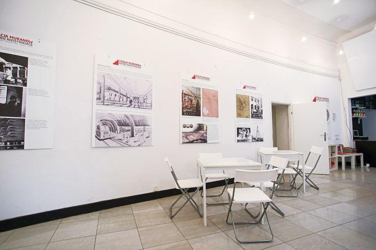 Idealne miejsce na organizację wystaw, konferencji czy warsztatów - Stacja Muranów.