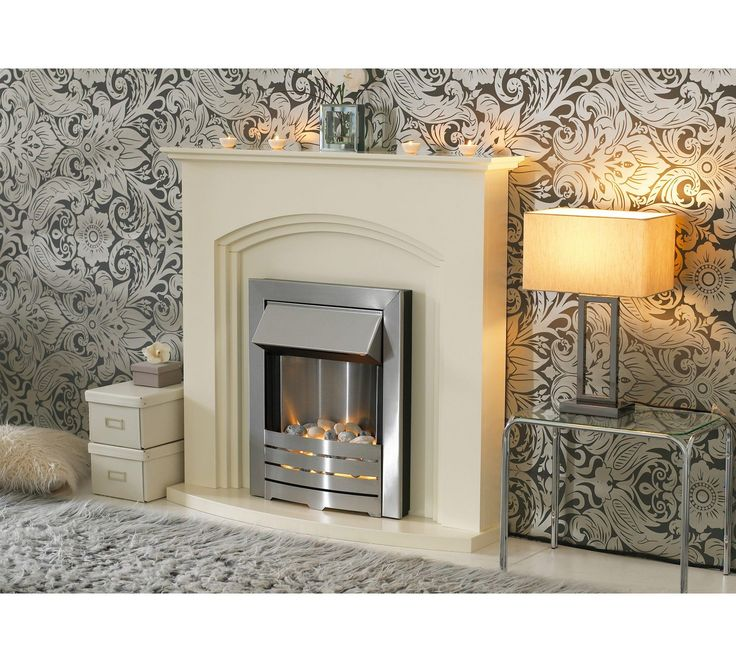 Buy Adam Truro 2kW Electric Fireplace Suite - Ivory at Argos.co.uk, visit Argos.co.uk to shop online for Fires, Fireplaces and fires, Home improvements, Home and garden