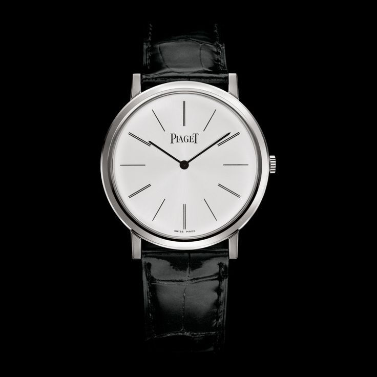 White gold Ultra-thin mechanical Watch G0A29112 - Piaget Luxury Watch Online, One day I will buy this for him.