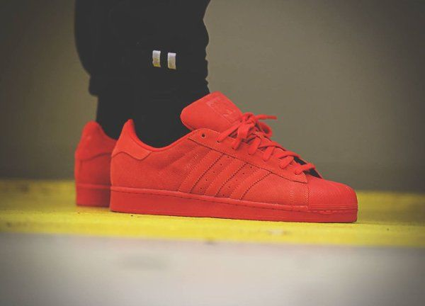 Adidas Superstar RT Triple Red Suede