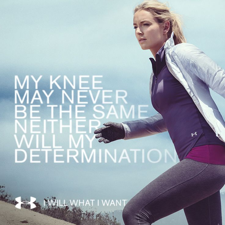 Lindsey Vonn lets nothing hold her back. Neither should you. #IWILLWHATIWANT