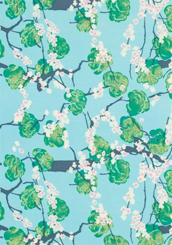 Stitch - Make something beautiful today. Blue, Green, White, Pink, Amy Butler