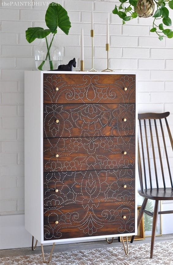 Dramatic Before & After: Repurposed Dresser Tutorial | Apartment Therapy