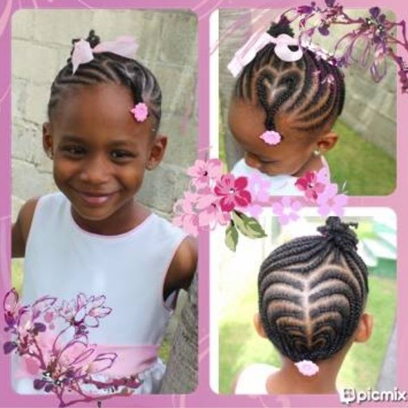 Strange 1000 Images About Little Girls Hairstyles On Pinterest Natural Hairstyles For Women Draintrainus