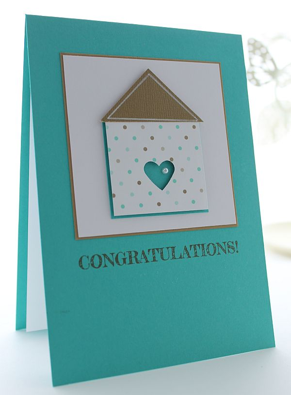 Delightful Card Making Ideas For Housewarming Part - 10: Lizyu0027s House Of Cards: New Home Anyone?