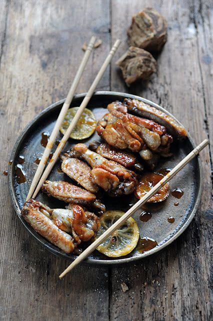 Dorian cuisine.com Mais pourquoi est-ce que je vous raconte ça... : Histoire de famille chinoise et ailes de poulet citron et gingembre à dévorer avec les doigts!