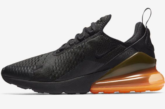 Release Date: Nike Air Max 270 Tonal Orange