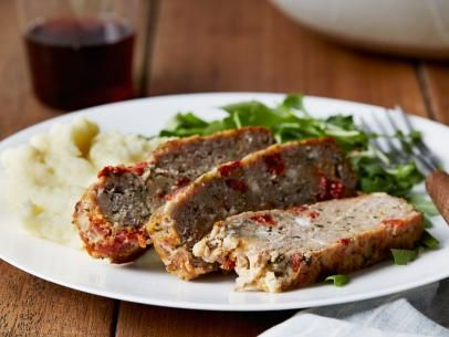 Turkey Meatloaf with Feta and Sun-Dried Tomatoes Recipe | Giada De Laurentiis | Food Network