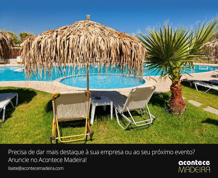 Anuncie no Acontece Madeira! Precisa de dar mais destaque à sua empresa ou ao seu próximo evento? + informação http://bit.ly/1UzUz7i