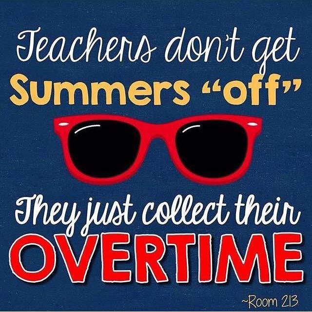 Truth--and it ain't nearly enough, either, for those zillions of extra hours teachers put in, especially first-years!