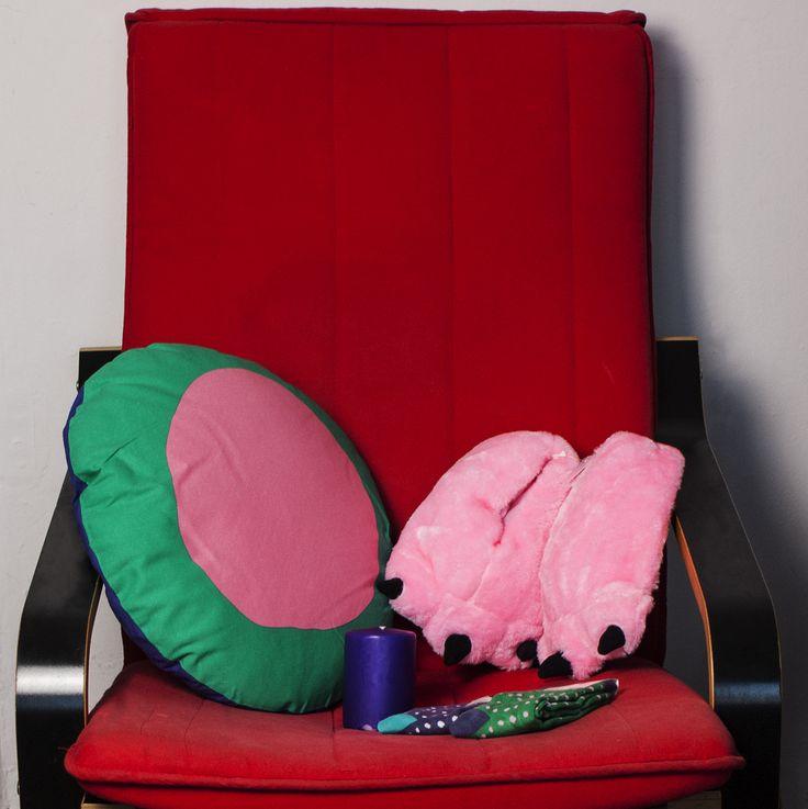 #tigerpolska #tigerstores #dots #groszki #kropki #grochy #kropeczki #poduszka #pillow #skarpety #socks #świeczka #candle #kapcie #slippers
