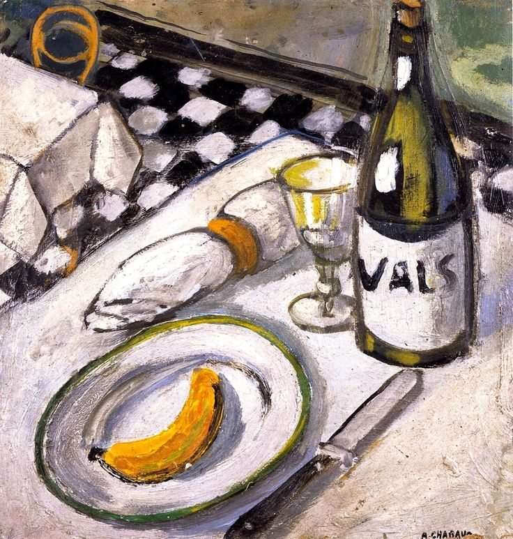 Bottle of Vals - Auguste Chabaud, 1907