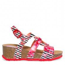 Desigual dívčí sandály na klínku Wedge Bio Trazos - 1049 Kč