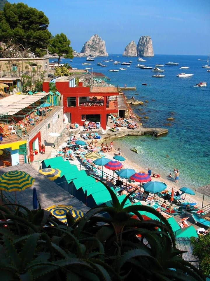 Capri Island - loved it here!!