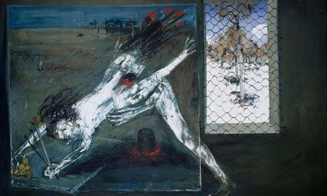 Australian artist Arthur Boyd, this was an incredible, moving exhibition.