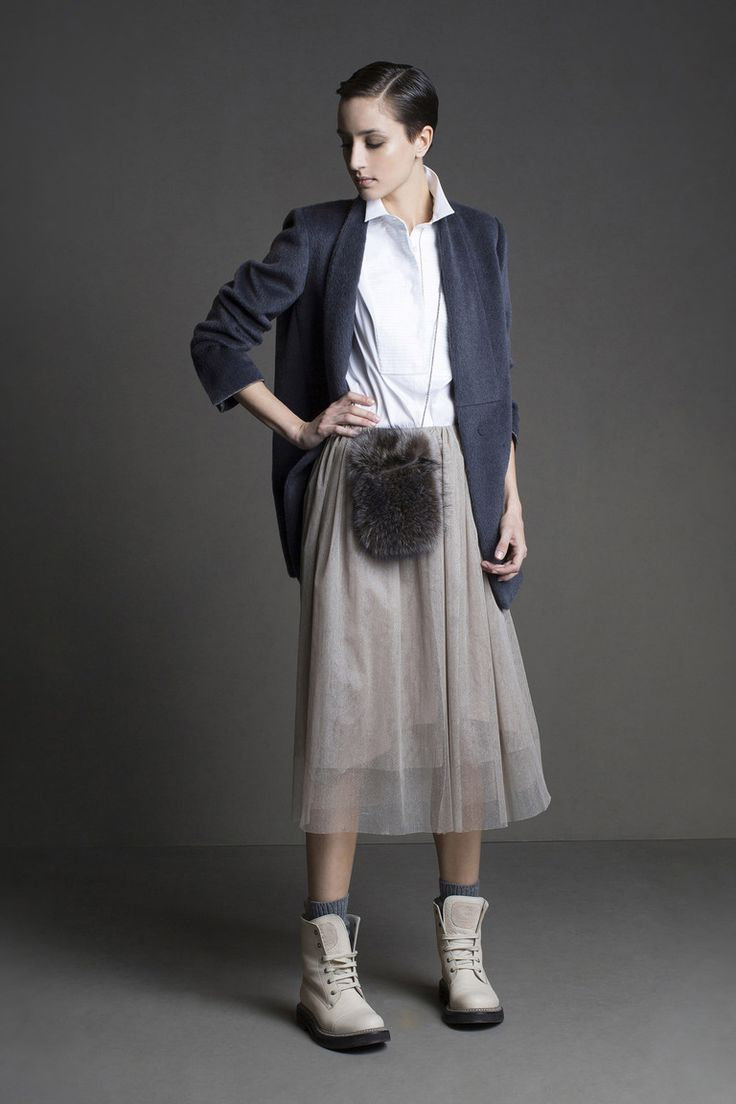 Тонкая юбка + многослойность