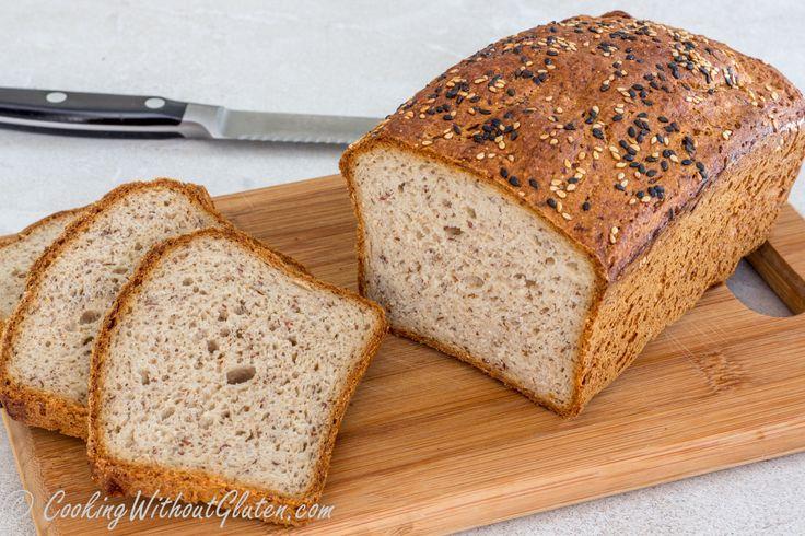 Выпечка буханки хлеба без глютена